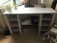 IKEA BRUSALI White Corner Desk