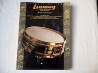 HISTORY OF LUDWIG DRUMS BOOK (£15)
