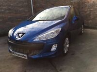 2009 PEUGEOT 308 1.6 DIESEL not golf astra corsa peugeot 308 206 focus fiesta clio polo