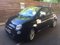 FIAT 500 SPORT Multi-jet Diesel 1.3 spares or repair Black '08