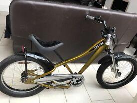 Giant boys DUB bike, chopper style, gold & black