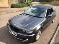 BMW, 3 SERIES, Convertible, 2005, Manual, 1995 (cc), 2 doors