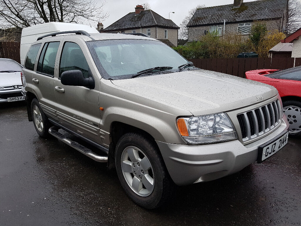 2003 jeep grand cherokee 4 7 v8 in lisburn county. Black Bedroom Furniture Sets. Home Design Ideas