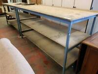 Large industrial benches (many available)