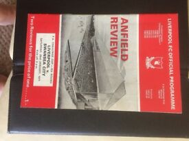 Liverpool Official Programme 1971