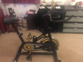 Sale for Bodymax B2 Indoor Studio Cycle Exercise Bike (Black) Free LCD Monitor
