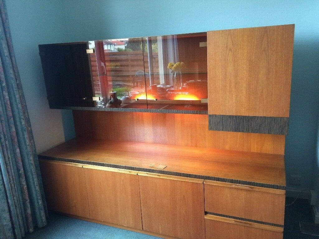 Retro sideboard and display unit