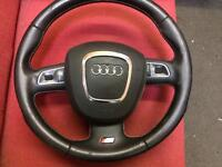 Audi s4 steering wheel with airbag Audi A4 A6 rs4 rs5 vw caddy