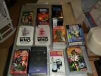 Dr Who Videos - Rare Collection For Any Fan or Collector - Over 100 Videos in Very Good Condition