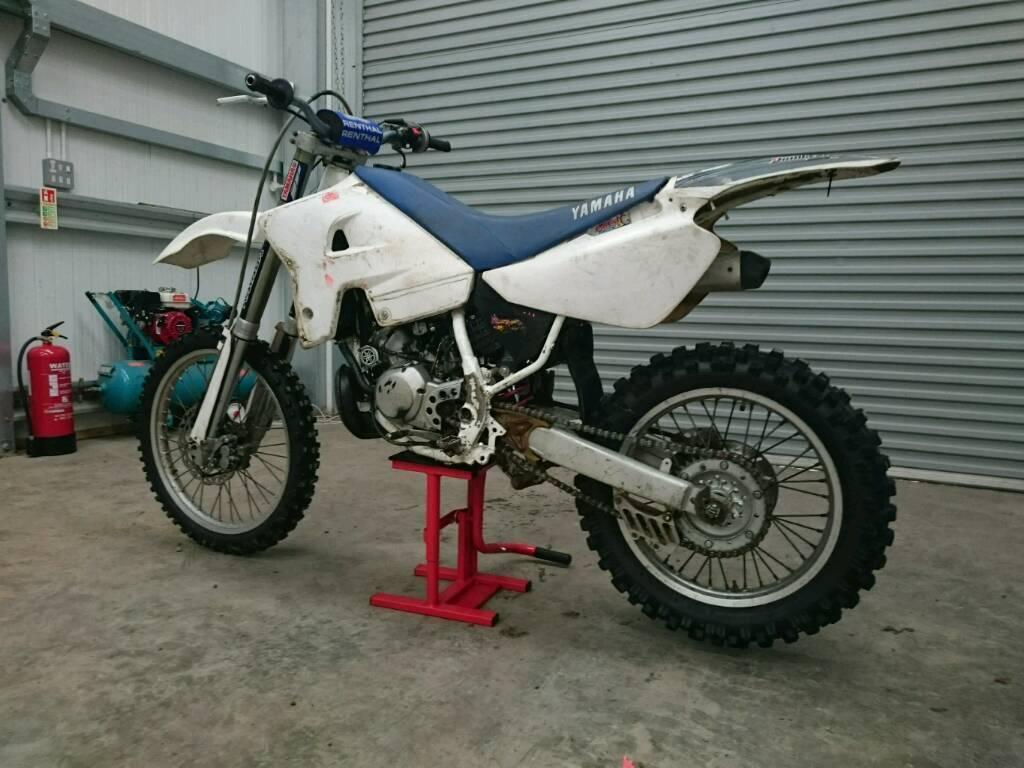 yamaha wr dt 125 motocross bike in norwich norfolk. Black Bedroom Furniture Sets. Home Design Ideas