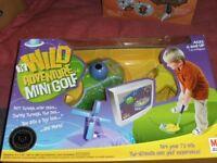 TV WILD ADVENTURE MINI GOLF GAME (New & Boxed)