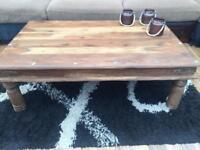 Sheesham coffee table