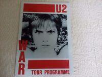 U2 War programme