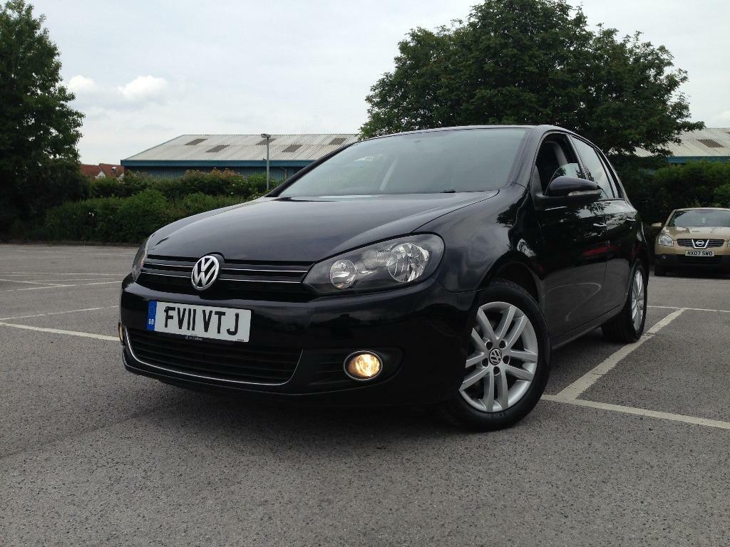 2011 vw golf gt tdi 2 0 bluemotion 140 bhp 5 door black diesel audi a3 s line fr gtd bmw m sport. Black Bedroom Furniture Sets. Home Design Ideas