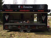 16ft Catering Trailer Kebab van, burger Van Kiosk, Ready To go Business