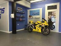 GSXR 600 K4 Yellow