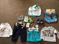 Boys Clothes 3-6 Months.