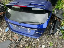 2015 Ford Fiesta st line Bootlid with spoiler in blue