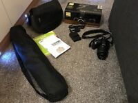 Nikon D3100 with accessories