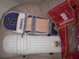 Surridge cricket pads
