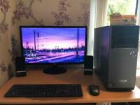Asus Desktop and Acer Monitor all in one. Open to offers