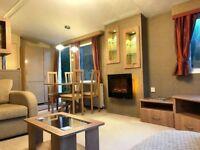 2 bedroom static caravan for sale in the Yorkshire Dales, Ingleton, Bentham, LA6 3HR. Rivers Edge