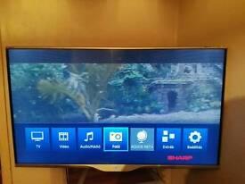 Tv. 50 inch smart 3 d
