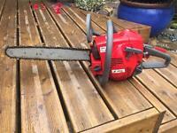 Efco petrol chain saw
