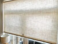 Large cream 5ft roller blind great condition