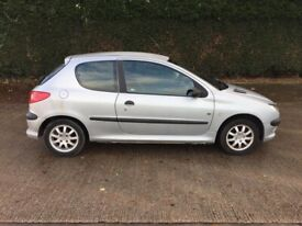 image for Peugeot, 206, Hatchback, 2004, Manual, 1398 (cc), 3 doors