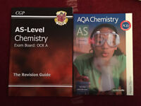 A Level Chemistry study / revision books x 2