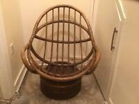Mid Century Vintage Swivel/ Egg Chair / Rocking Chair 1960s /1970s