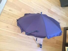 Pram parasol