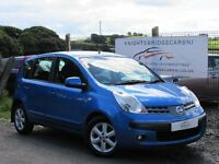 2007 NISSAN NOTE 1.4 SE 5 DOOR 1 LADY OWNER 1 YEAR MOT EXCELLENT CONDITION FULL SERVICE HISTORY