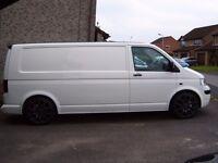 2006 VW T5 1.9TDI LWB tailgate FSH NO VAT £7995