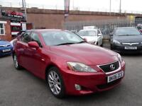 LEXUS IS 2.2 220D 4d 175 BHP SERVICE HISTORY (red) 2006