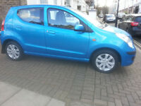 2009 Suzuki Alto SZ4 1.0 Automatic Petrol. 5 door Hatchback. Blue metallic. MOT until January 2019
