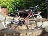 Road Bike Mekk potenza 4.0 carbon frame and forks 8.9 kilos