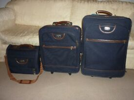 3 Antler Suitcases in very good condition