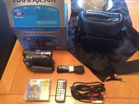 Sony handycam DVD camcorder
