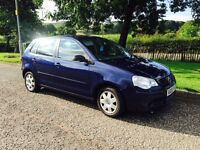 2005 05 Volkswagen polo 1.2 newshape only £775