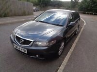 2005 Honda Accord 2.2 cdti estate grey, half leather tow-bar
