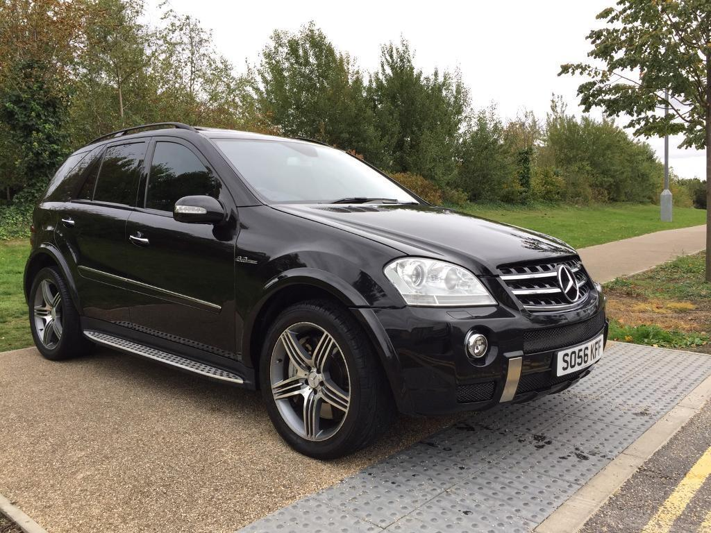 2007 MERCEDES ML 63 AMG 4-MATIC 6.3 AUT BLACK IMMACULATE LEATHER FULLY LOADED WARRANTY PART EXCHANGE