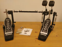 DW 3000 Double Bass Drum Pedal (DWCP-3002), brand new condition, all pack&docs provided