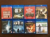 12 Blu-rays. All in excellent condition. One lot for sale.
