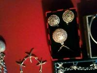 Selection of brand new 925 Silver jewellery sets