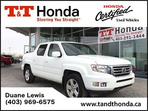 2014 Honda Ridgeline Touring *Leather, Sunroof, Backup Cam