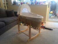 John Lewis Moses Rocking Basket