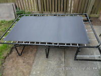 120cm ORYGINAL SOM'TOILE M-6 3 Fold Pull Out Bed Action