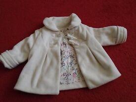 White Next coat 6 - 9 months